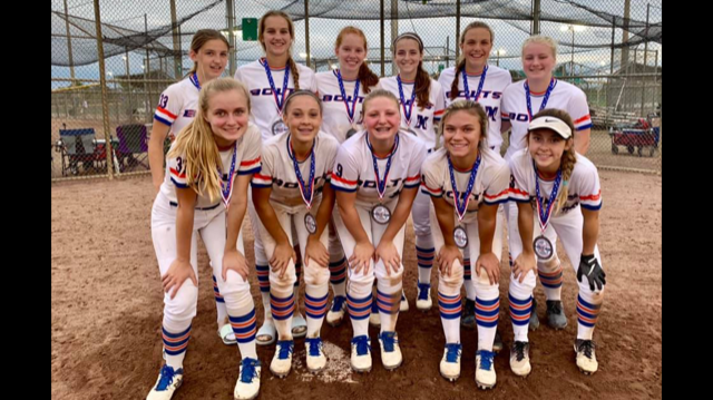 15u Walraven Runner up USSSA Fall State Championship